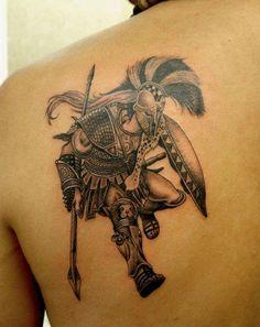 Ancient Greek Warriors Tattoos ancient greek tattoo quotes. quotesgram