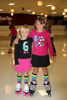 flibbertigibberish: Roller Skating Party Palooza