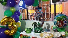 Decoracion fiesta hulk Hulk, Birthday Cake, Desserts, Food, Tailgate Desserts, Deserts, Birthday Cakes, Essen, Postres