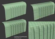 Hard Surface Topology Reference Archive - Imgur