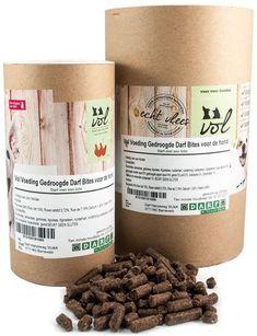 Vol Darf met en Bites Hondenbrokken is een Koud Geperst Brok van Natuurlijk de Beste Kwaliteit Afkomstig van de Groene Weg slagerij dus een Groot Vlees Aandeel