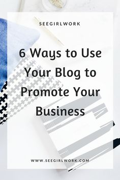 blogging to promote