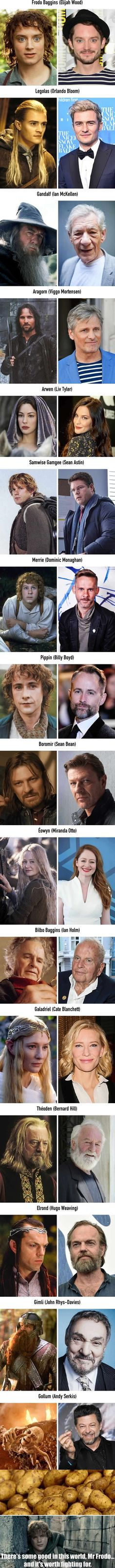 The Lord of the Rings 15 Years Later - 9GAG