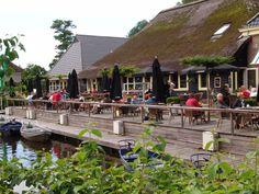 Ontwerp, horeca terras, styling, Giethoorn