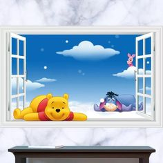 Winnie The Pooh Wall Decal – the treasure thrift