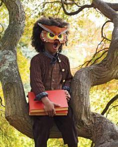 DIY Tutorial DIY Animal Masks / DIY Making An Owl Mask - Bead&Cord