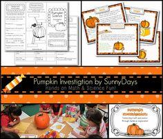 Plan for Pumpkins - It's Not Too Late!  Fun pumpkin activities.