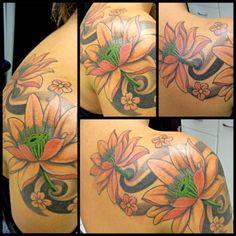 Lotus tattoo, Bruno Lanca.