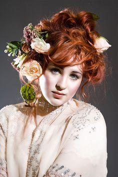 Paulina / Gibson Girl 3 by torkristensen, via Flickr