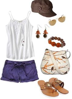 Clemson Girl: Gameday Look: Casual & Cute