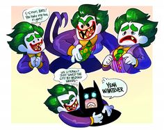 the interactions between Batman and Joker in this movie were everything I've ever wanted