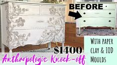 Wedding Cake Dresser Makeover & My Sugar Addiction Story Debi's Design Diary and Chalk and Clay DIY Paint ™ Diy Furniture Hacks, Upcycled Furniture, Painted Furniture, Furniture Logo, Furniture Stores, Cheap Furniture, Office Furniture, Ikea Malm, Swan Painting