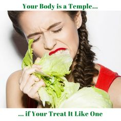 How to treat your body like a temple to reach your weight loss goals.