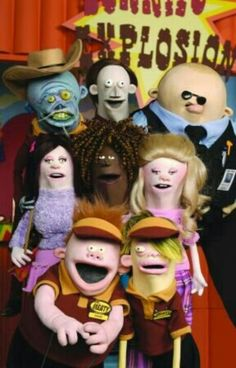 Mr. Meaty the show is very old but still awesom