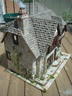 My Greenleaf Dollhouses: Greenleaf Glencroft Dollhouse Kit