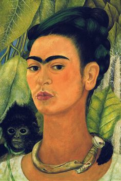 Frida Kahlo Self-por
