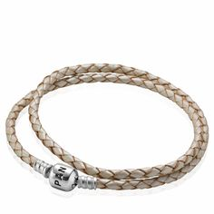 Pandora Leather Clasp Bracelet $45 #Pandora #Clasp #Bracelet #Gift