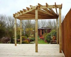 Image detail for -Add Style to Your Pergola - Backyard,Front Yard,Lawn Care,Garden,Pool . Diy Pergola, Corner Pergola, Pergola Canopy, Pergola Swing, Deck With Pergola, Outdoor Pergola, Wooden Pergola, Covered Pergola, Pergola Shade