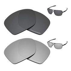 97f5bc32e9f Tintart Performance Replacement Lenses for Oakley Plaintiff Squared Polarized  Etched - Value Pack Review Replacement Lenses