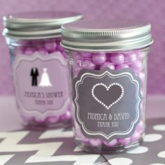 Theme Mini Mason Jar Favors