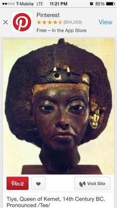 Queen Tyie of Kemet 14th century B.C. She was the person several Asian kings wrote letters to for help during their troubling times.