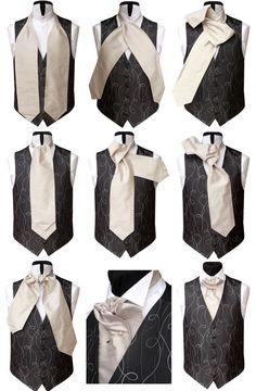 Пластрон – благородный галстук, исторически – из белого шелка, закрывающий грудь, который не завязывали, а крепили к рубашке двенадцатью булавками. С XIX века он украшает светского мужчину.