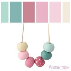 More colour fun at Lottie Of London! Here's the palette we used for our Long…