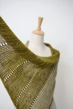 Ravelry: Spotlight shawl in Madelinetosh Tosh Sock - knitting pattern by Janina Kallio.