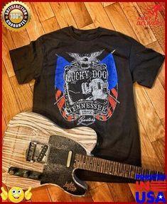 (Sponsored)eBay - Lucky Dog Custom Guitars Usa Eagle Black T Shirt Custom Guitar Band Music Conc Usa Shirt, Custom Guitars, Music Bands, Custom Shirts, Eagle, Dog, Mens Tops, Ebay, Clothes
