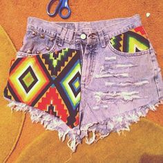 247d275839 Party High Waist Shorts by InfiniteDesignShop on Etsy