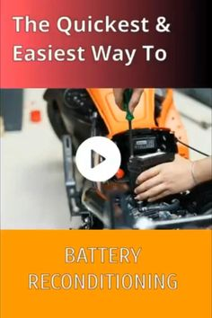 How to recondition batteries Cordless Drill Batteries, Ryobi Battery, Off Grid Batteries, Solar Battery, Lead Acid Battery, Battery Hacks, Battery Recycling, Restoration, Diy Car