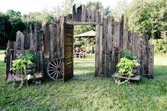 ideas for old porch columns wedding backdrop - Google Search