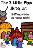The Three Little Pigs - Literacy Unit Three Little Pigs, Teacher Pay Teachers, Literacy, The Unit, Education, Teaching, Training, Educational Illustrations, Learning
