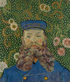 [フリー絵画素材] フィンセント・ファン・ゴッホ - 郵便配達人ジョゼフ・ルーランの肖像 (1889) ID:201306280000