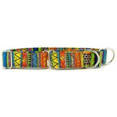 Collar Planet - Swirls and Stripes Martingale Dog Collar, $16.98 (http://www.collarplanetonline.com/dog-collars/swirls-and-stripes-martingale-dog-collar/)