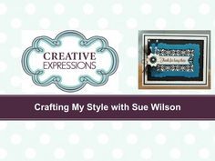 Traditional Christmas Card with Holly | Crafting My Style with Sue Wilson - YouTube