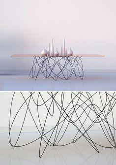 Subatomic table by jason phillips. stunning..