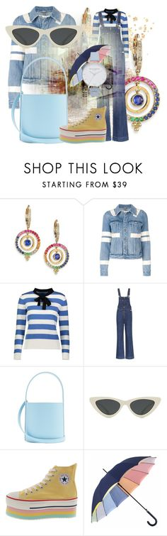 """Spring Accessories"" by tgtigerlily ❤ liked on Polyvore featuring Temple St. Clair, Givenchy, YAL New York, AlexaChung, Staud, Le Specs and Olivia Burton"