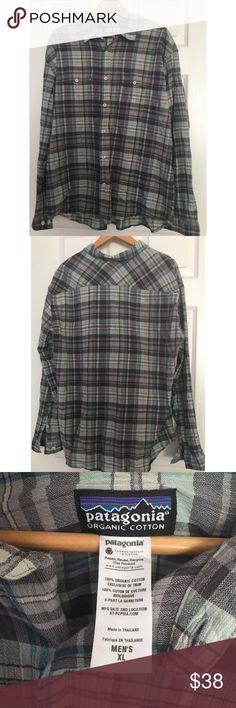 Patagonia Long Sleeve Button Down Shirt Patagonia long sleeve button down shirt. Good condition. 100% organic cotton. Patagonia Shirts Casual Button Down Shirts