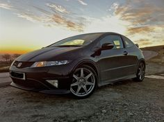 Black Honda Civic Type R. My mechanical love