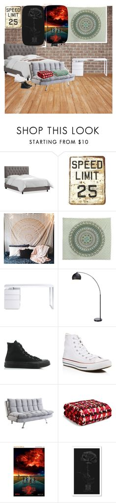 """Asymmetrical"" by ltorp ❤ liked on Polyvore featuring interior, interiors, interior design, home, home decor, interior decorating, NOVICA, Bellini, Converse and Coaster"