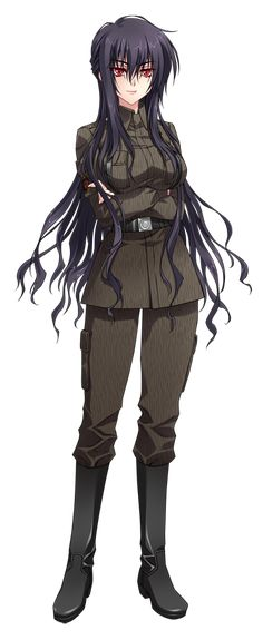 Character Design Girl, 2d Character, Character Design Inspiration, Anime Uniform, Anime Military, Future Weapons, All Themes, Tsundere, Light Novel