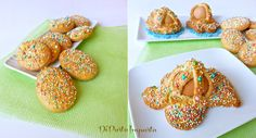 Di pasta impasta: Biscotti Pasquali (aceddu cu' l'ova) della tradizione catanese