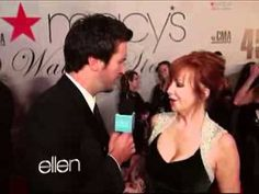 Part of the video based on Ellen choosing Luke to interview on her behalf on the Red Carpet - among other funny moments. Hilarious!