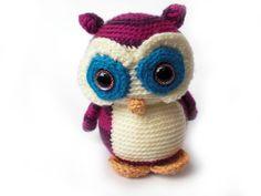 Magical Eyed Nelson the Owl (FreshStitches)
