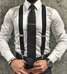 Suspenders are masculine, classy and have a strong sex appeal yet not many opt for this accessory. Here's a complete guide on suspenders for men.