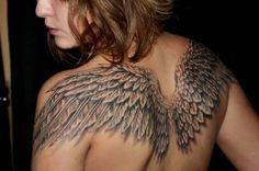 wings tattoo for girls - Google Search