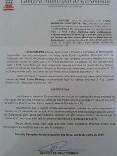 PROF. FÁBIO MADRUGA: A CÂMARA MUNICIPAL DE GARANHUNS AGRACIA PELA  SEGU...