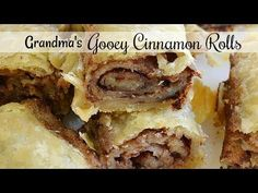 Grandma's Gooey Cinnamon Rolls | These old fashioned cinnamon rolls are just like my grandma used to make. They often refer to these rolls as pie crust o Cinnamon Bun Recipe, Cinnamon Twists, Cinnamon Bread, Pie Crust Cinnamon Rolls, Breakfast Dishes, Best Breakfast, Breakfast Recipes, Dessert Recipes, Coconut Poke Cakes
