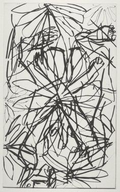 Georg Baselitz (born 1938)  Title  [no title]  From Gothic Maidens  Date  1995  Medium  Drypoint on paper  Dimensions  image: 292 x 179 mm  Collection  Tate  Acquisition  Purchased 1997